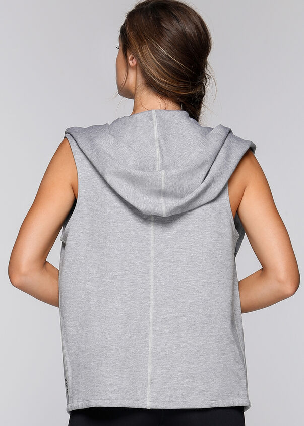 It's A Wrap! S/Less Jacket, Grey Marl, hi-res