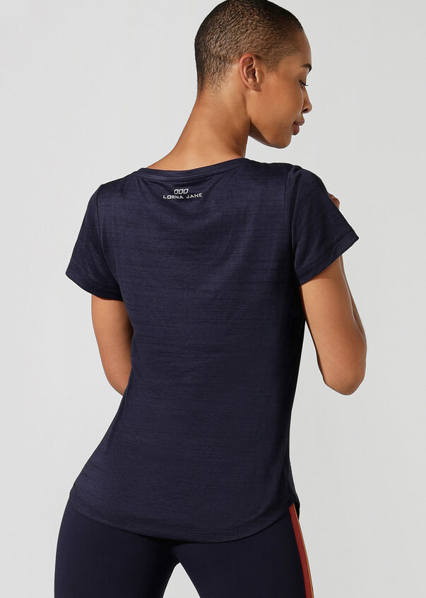 Frankie Active Tee, French Navy, hi-res