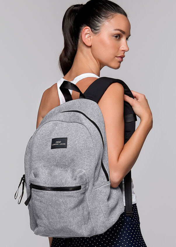 All In One Backpack, Char Marl, hi-res