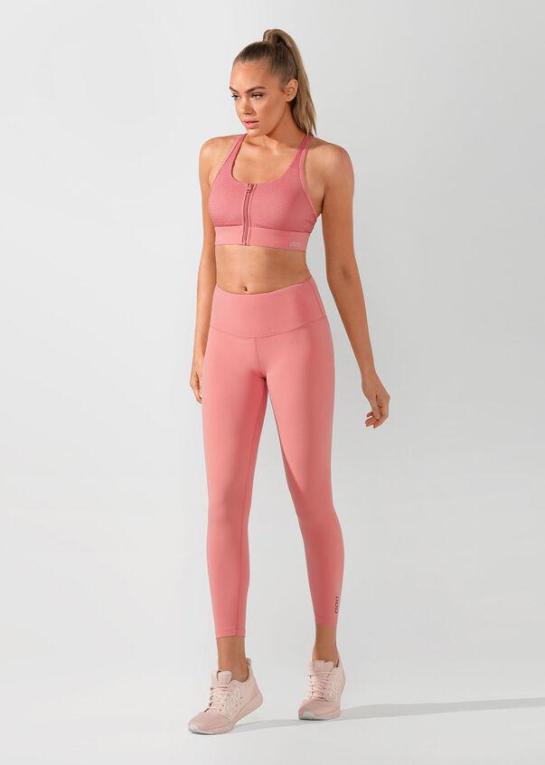 Support Sports Bra, Quartz Pink, hi-res