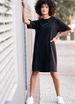 Off Duty Oversized Dress, Black, hi-res