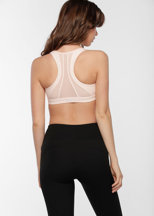 Comfort Support Sports Bra, Dusty Pink, hi-res
