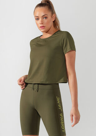 Performance Cropped Active Tee
