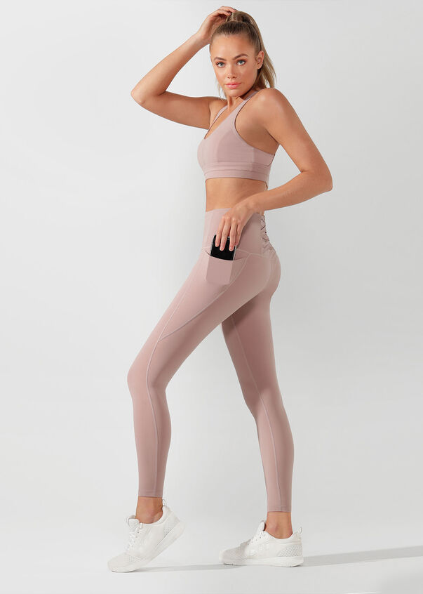 Ballerina Babe Full Length Tight, Dawn, hi-res