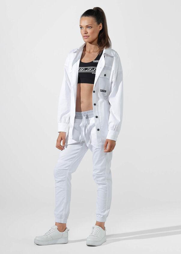 Flashy Full Length Pant, White, hi-res