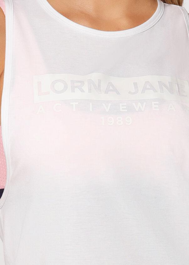 Lorna Jane Active Tank, White, hi-res