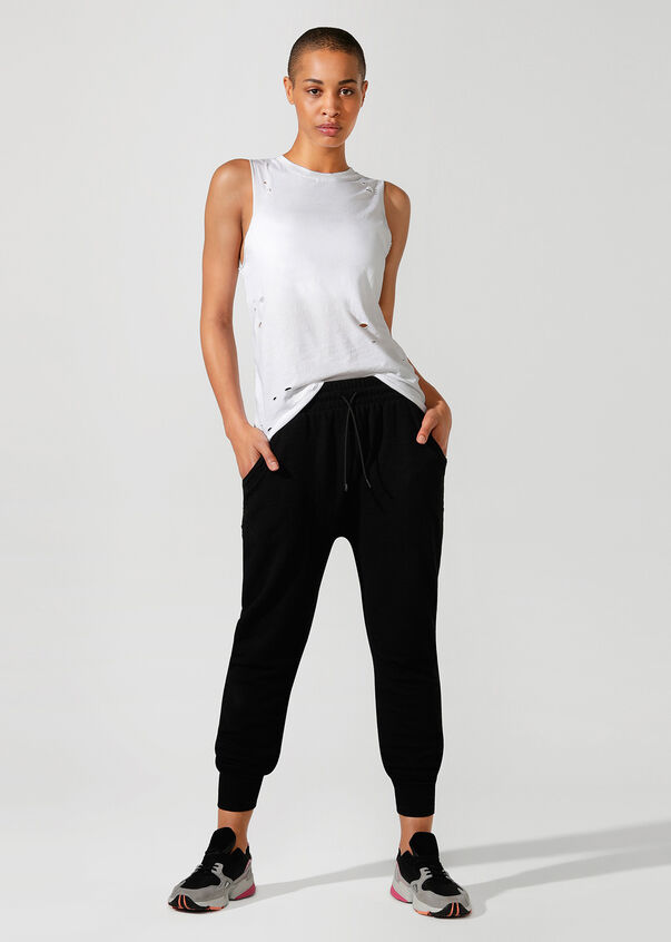 LJ Happy Pant, Black, hi-res