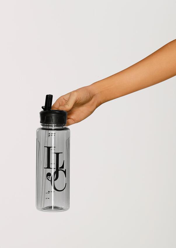 Classic 1l Water Bottle, Black, hi-res