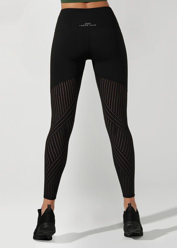 Serenity Booty Support Full Length Tight, Black, hi-res
