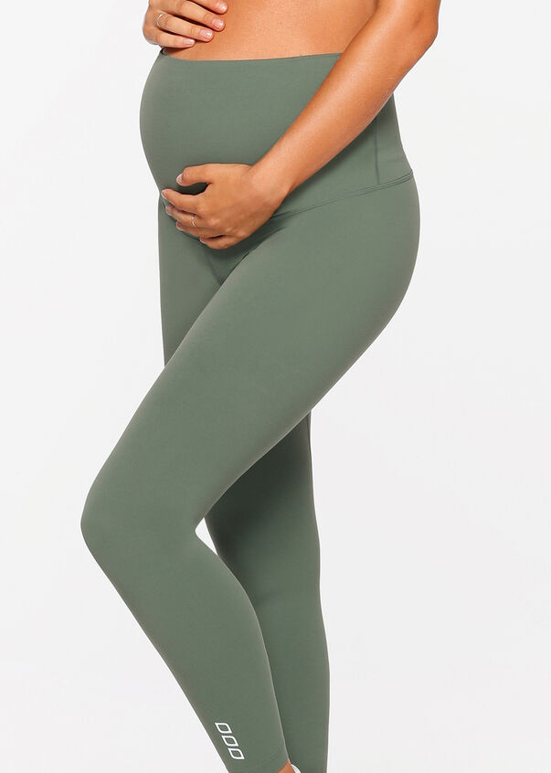 LJ Maternity Full Length Tight, Military, hi-res