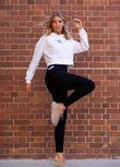 Amy Thermal Phone Pocket Full Length Leggings, Black, hi-res