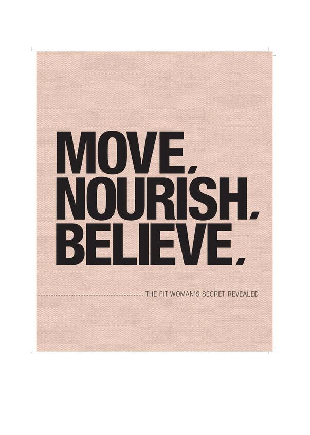 Move Nourish Believe Paperback, , hi-res