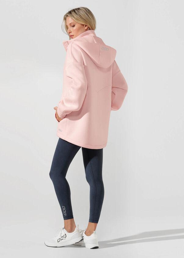Easy Oversized Parka, Enchanted Pink, hi-res