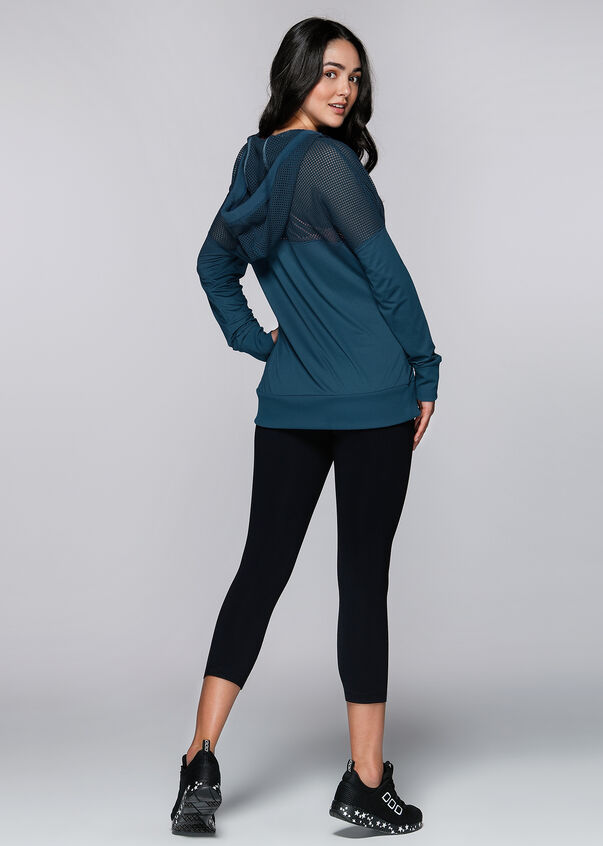 Work It Hoodie, Twilight Blue, hi-res