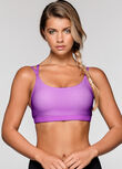 Shape Shifter Sports Bra, Dewberry, hi-res