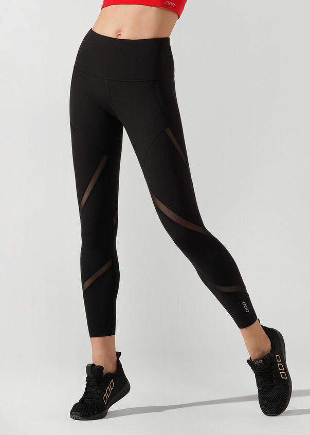 Agility Core Ankle Biter Tight, Black, hi-res