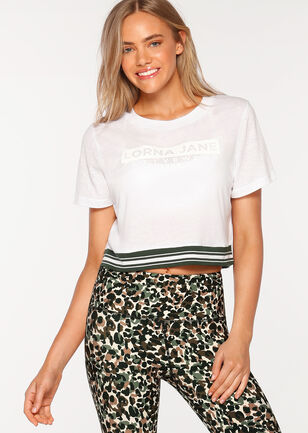 Alive Cropped Tee