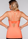 Defiance Excel Tank, Neon Apricot Marl, hi-res