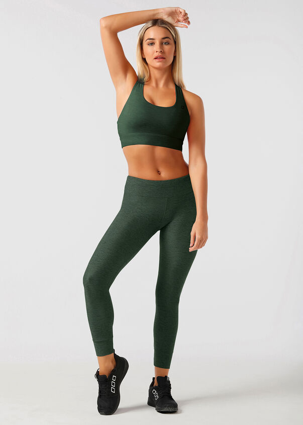 Flex Core A/B Tight, Bottle Green Marl, hi-res
