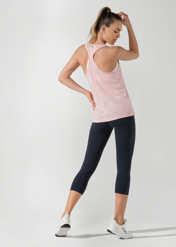 Iconic Slouchy Gym Tank, Enchanted Pink, hi-res